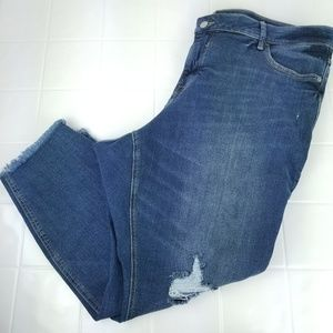 Old Navy size 22 Short cropped super skinny jeans
